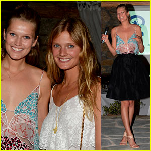 Toni Garrn Partners with BidKind for Charity Dinner in Greece!