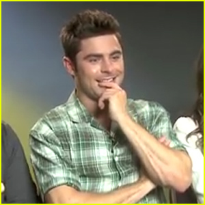 Zac Efron Didn't Recognize 'Breaking Free' From 'High School Musical' (Video)