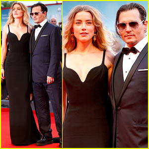 Amber Heard Supports Johnny Depp at 'Black Mass' Premiere!