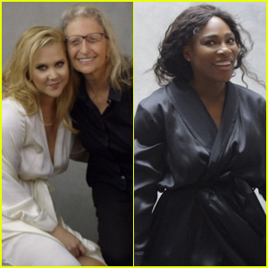 Amy Schumer & Serena Williams Pose for Pirelli Calendar 2016 - Check Out Behind-the-Scenes Photos!