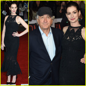 Anne Hathaway & Robert De Niro Bring 'The Intern' to London