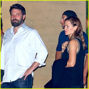 Ben Affleck & Jennifer Garner Go to Dinner Without the Kids