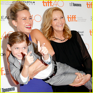 Brie Larson Shares Adorable TIFF Moments with Young Co-star