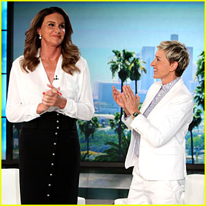 Caitlyn Jenner on 'Ellen' - Watch t