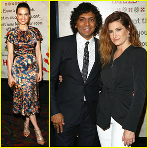Carla Gugino Supports Kathryn Hahn & M. Night Shyamalan at 'The Visit' Premiere!