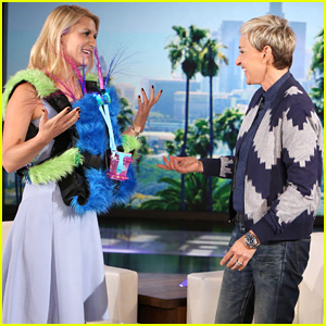 Claire Danes Makes Her Very First Appearance on 'Ellen' - Watch Now!