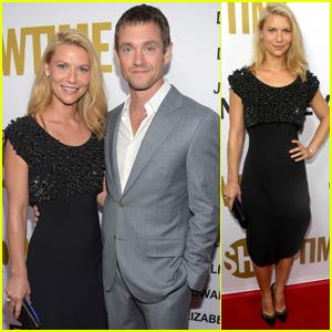 Claire Danes & Hugh Dancy Couple Up for Showtime Pre-Emmys 2015 Party With 'Homeland' Cast