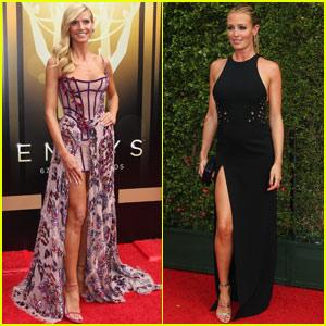 Reality Show Host Emmy Nominees Cat Deeley & Heidi Klum Head to the Creative Arts Emmys