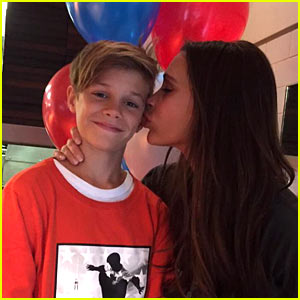 David & Victoria Beckham Wish Son Rome