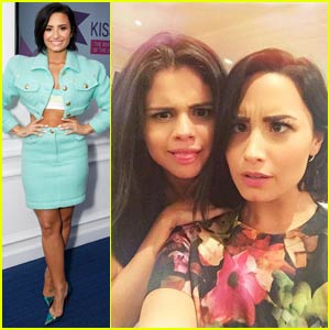 Demi Lovato Shares Cute Pic With Longtime BFF Selena Gomez