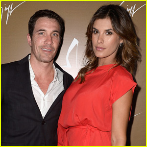 Model Elisabetta Canalis Welcomes Baby Girl Skyler Eva with Husband Brian Perri