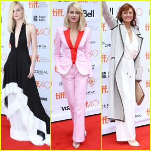 Elle Fanning, Naomi Watts & Susan Sarandon Premiere 'About Ray' At TIFF 2015