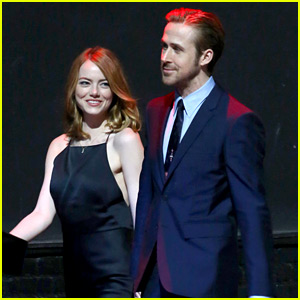Emma Stone & Ryan Gosling Hold Hands, Look So Cute on Set!