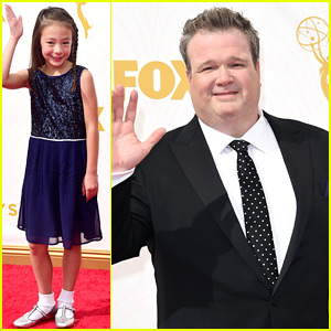 Eric Stonestreet & Nolan Gould Suit Up For Emmy Awards 2015