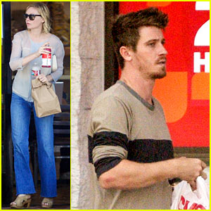 Garrett Hedlund Grabs a Birthday Bagel with Kirsten Dunst