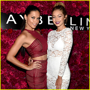 Adriana Lima & Gigi Hadid Celebrate NYFW with Maybelline!
