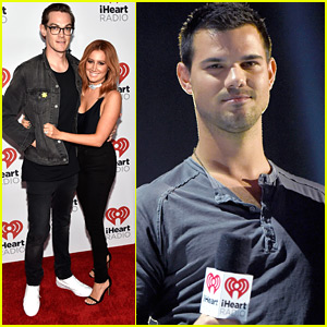 Ashley Tisdale Brings Husband Christopher French To iHeartRadio Music Festival