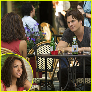 The Vampire Diaries' Ian Somerhalder & Kat Graham Dish on Damon & Bonnie in Season Seven (JJ Interview)