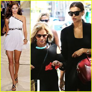 Irina Shayk Hangs Out with Bradley Cooper's Mom in NYC