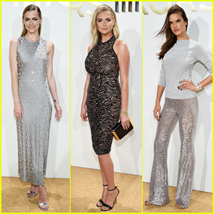 Jaime King & Kate Upton Bring The Class To NYFW At Michael Kors Fragrance Launch!