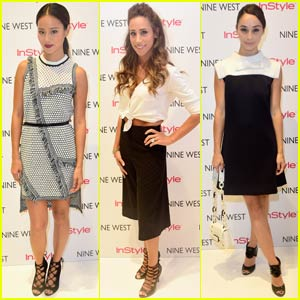 Jamie Chung Hosts Nine West & InStyle Event in NYC