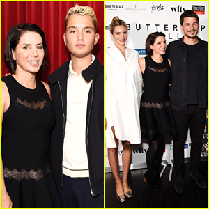 Jude Law's Son Rafferty Supports Mom Sadie Frost at Her Premiere!