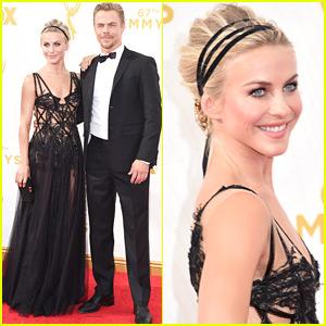 Julianne Hough & Brother Derek Hit The Emmy Awards 2015 Together