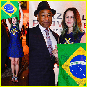 Kaya Scodelario Cries At Brazilian Premiere of 'Maze Runner: The Scorch Trials'