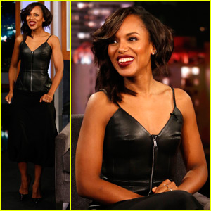 Kerry Washington Reveals How Her Parents Once Embarrassed Her at the Emmys (Video)