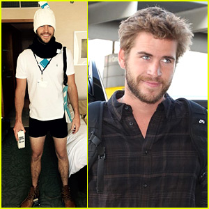 Liam Hemsworth Poses in His Underwear for Hot New Photo!