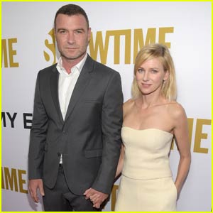 Liev Schreiber & Naomi Watts Hit Showtime's Pre-Emmys Bash