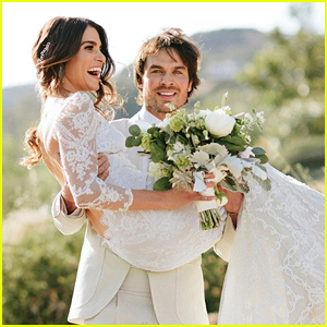 New Photos From Nikki Reed & Ian Somerhalder's Gorgeous Weddin