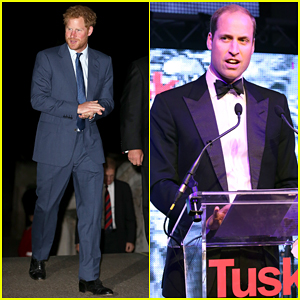 Prince Harry Kicks Off Rugby World Cup 2015 While Prince William Makes Speech At Charity Ball!