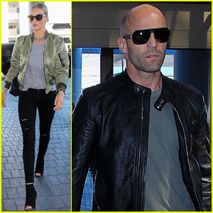 Rosie Huntington-Whiteley & Jason Statham Fly the Skies in L.A.
