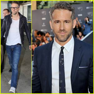 Ryan Reynolds Suits Up for 'Mississippi Grind' Premiere at TIFF
