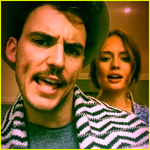 Sam Claflin Perfectly Lip Syncs 'Fancy' with Wife Laura Haddock