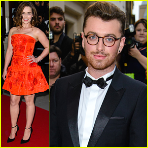 Emilia Clarke & Sam Smith Win At GQ Men Of The Year Awards 2015