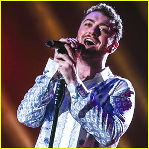 Sam Smith Rocks Out In Rio To Rihanna