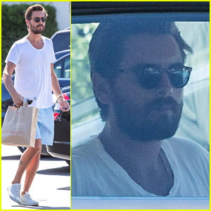 Scott Disick Now Uses the Visitor's Gate for Old Community