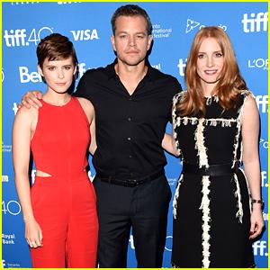 Matt Damon, Jessica Chastain, & Kate Mara Bring 'The Martian' to TIFF
