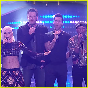 'The Voice' Coaches Take The Stage - To Sing Each Other's Songs!