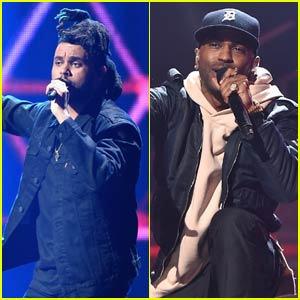The Weeknd & Big Sean Bring the House Down at iHeartRadio Music Festival 2015