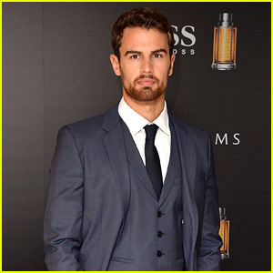 Theo James Reveals What a Man Should Smell Like