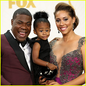 Tracy Morgan Brought His Wife & Daughter to Emmys 2015!