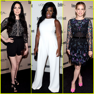 Uzo Aduba & 'OITNB' Ladies Party Together Before the Emmys