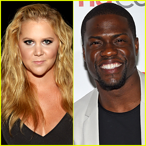Amy Schumer Reveals Kevin Hart's 'Hostile Text' Before 'SNL'