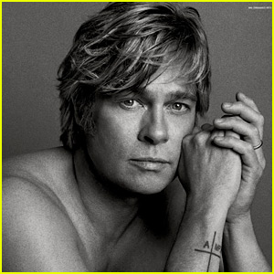Brad Pitt Goes Shirtless For Super Sexy 'V' Mag Spread!
