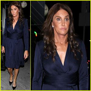 Caitlyn Jenner Eats Dinner at L.A. Hotspot Jon & Vinny's