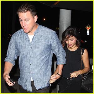 Channing Tatum & Jenna Dewan Have a Date Night at Craig's!
