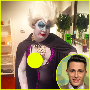 What Did Colton Haynes Dress Up As For Halloween This Year? Nip Slip Ursula!